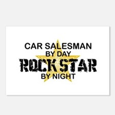Car Salesman Rock Star by Night Postcards (Package