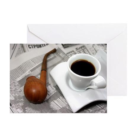 Coffee Break Greeting Card