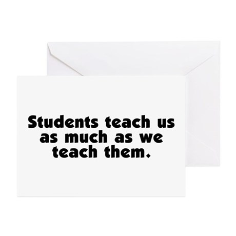 Student Teachers Greeting Cards (Pk of 10)