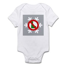 No L Snowflake Infant Bodysuit