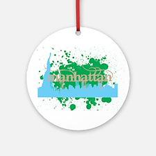 Manhattan Ornament (Round)