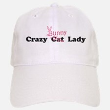 crazy bunny lady Baseball Baseball Cap
