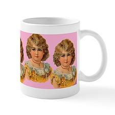 Victorian look girls hot chocolate mug