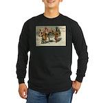 Irish Christmas Long Sleeve Dark T-Shirt