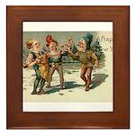 Irish Christmas Framed Tile
