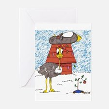 Cute Ostriches Greeting Cards (Pk of 20)