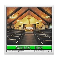St. Patrick's Church Interior Tile Coaster