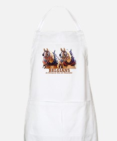 Strong Beautiful Belgians! BBQ Apron