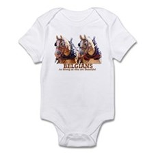Strong Beautiful Belgians! Infant Bodysuit