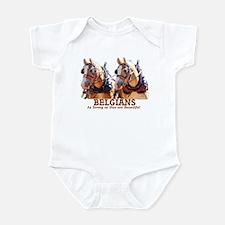 Strong Beautiful Belgians! Infant Bodysuit