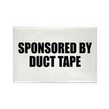 Duct Tape Sponsor Rectangle Magnet