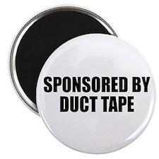 "Duct Tape Sponsor 2.25"" Magnet (100 pack)"