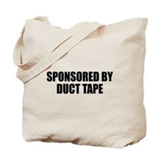 Duct Tape Sponsor Tote Bag