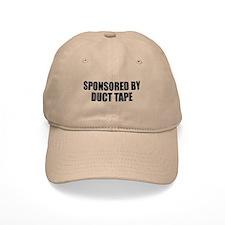 Duct Tape Sponsor Baseball Cap