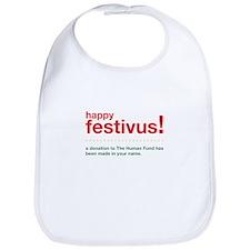 happy festivus fund Bib