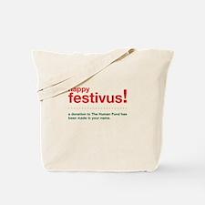 happy festivus fund Tote Bag