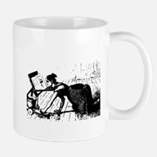 Scrubbing Woman Mug