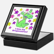 """""""I love my Dinosaurus!"""" Keepsake Box"""