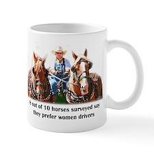 Women Drivers Draft Horse Mug
