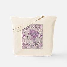 Victoria 2d purple Tote Bag