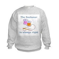 Costumer Thread Sweatshirt