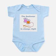 Costumer Thread Infant Bodysuit