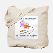 Costumer Thread Tote Bag