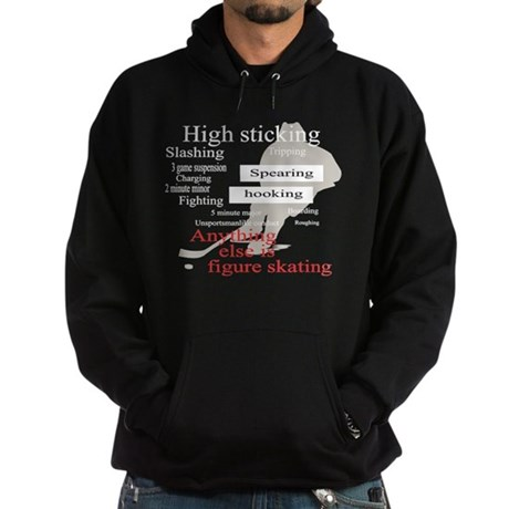 HOCKEY ANYTHING ELSE IS FIGUR Hoodie (dark)