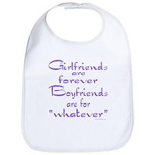 GIRLFRIENDS Bib