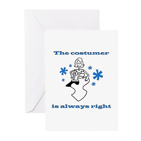 Costumer Sewing Greeting Cards (Pk of 10)