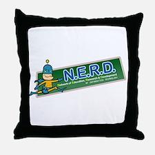N.E.R.D. Throw Pillow