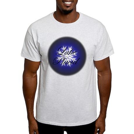 Snowflake Lake Placid Christmas Light T-Shirt