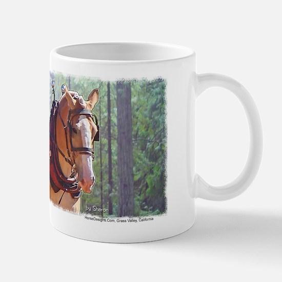 Belgian Logging Team Mug