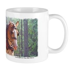Belgian Logging Team Mug