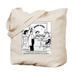 No Mad Cow Here Tote Bag