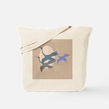 Whooping Crane Tote Bag