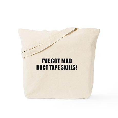 Duct Tape Sponsor Tote Bag
