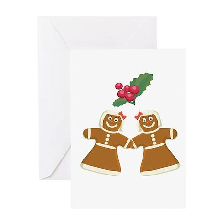 Gingerbread Women Greeting Card