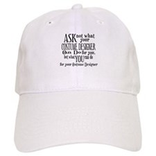 Ask Not Costumer Baseball Cap