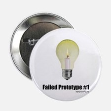 """Prototype #1 2.25"""" Button (10 pack)"""