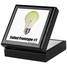 Prototype #1 Keepsake Box