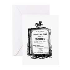 Book Man w/Hat Greeting Cards (Pk of 20)