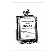 Book Man w/Hat Postcards (Package of 8)