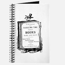 Book Man w/Hat Journal