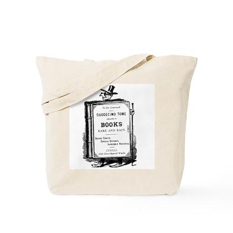 Book Man w/Hat Tote Bag