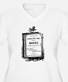 Book Man w/Hat T-Shirt