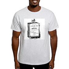 Book Man w/Hat T-Shirt