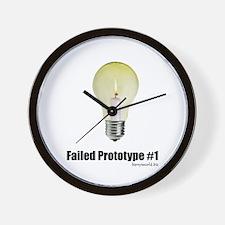 Prototype #1 Wall Clock
