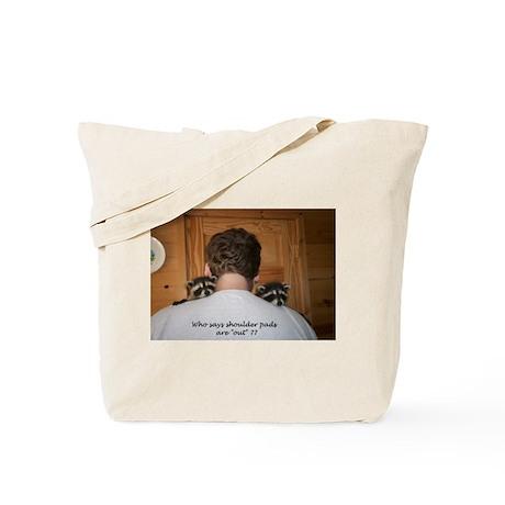 Shoulder pads Tote Bag