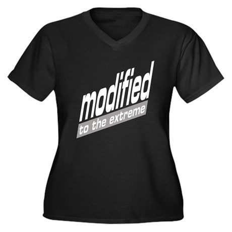Modified To The Extreme Women's Plus Size V-Neck D